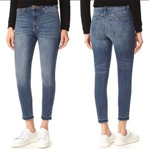 DL1961 Chrissy Trimtone High Waist Skinny Jeans